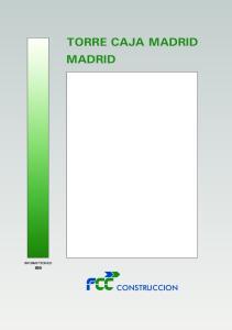 TORRE CAJA MADRID MADRID