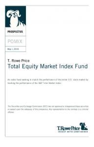 Total Equity Market Index Fund