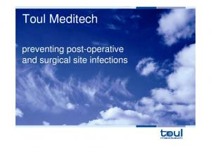 Toul Meditech. preventing post-operative and surgical site infections