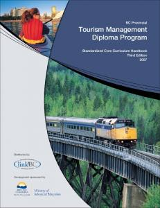 Tourism Management Diploma Program
