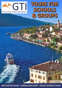 TOURS FOR SCHOOLS & GROUPS