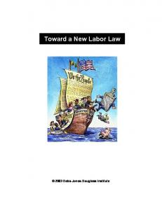 Toward a New Labor Law