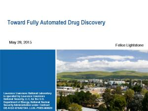 Toward Fully Automated Drug Discovery