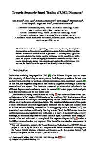 Towards Scenario-Based Testing of UML Diagrams