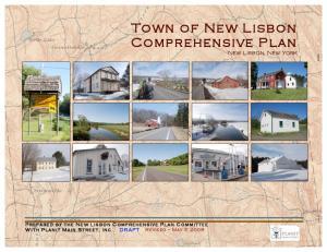 Town of New Lisbon Comprehensive Plan New Lisbon, New York