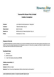 Townsville Airport Pty Ltd