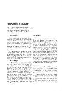 TOXOPLASMOSIS Y EMBARAZO*