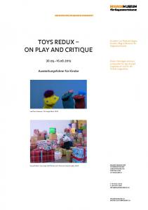 Toys Redux On Play and Critique