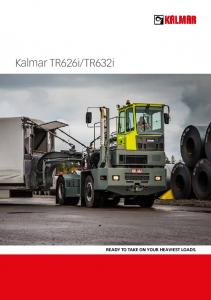 TR632i. Ready to take on your heaviest loads