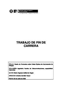 TRABAJO DE FIN DE CARRERA