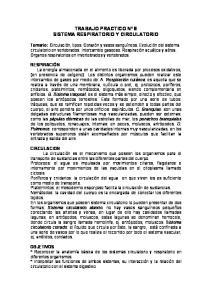 TRABAJO PRACTICO Nº 8 SISTEMA RESPIRATORIO Y CIRCULATORIO