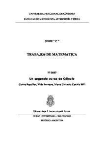 TRABAJOS DE MATEMATICA