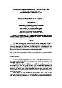 Tracked Mobile Robot Kuzma II