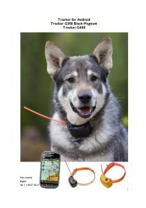 Tracker for Android Tracker G500 Black Magnum Tracker G400