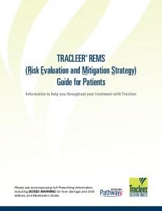 TRACLEER REMS (Risk Evaluation and Mitigation Strategy) Guide for Patients