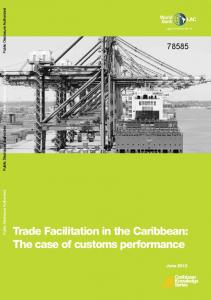 Trade Facilitation in the Caribbean: The case of customs performance