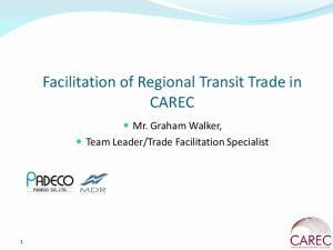 Trade Facilitation Specialist