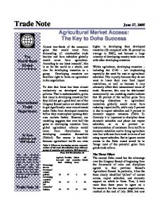 Trade Note June 27, 2005