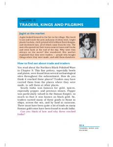 TRADERS, KINGS AND PILGRIMS