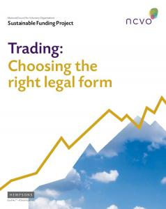 Trading: Choosing the right legal form