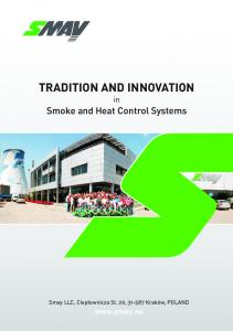 TRADITION AND INNOVATION in