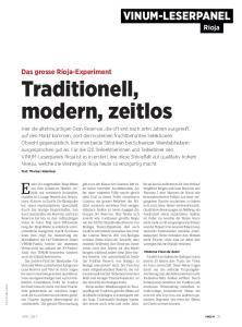 Traditionell, modern, zeitlos