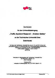 Traffic Accident Research Aviation Safety