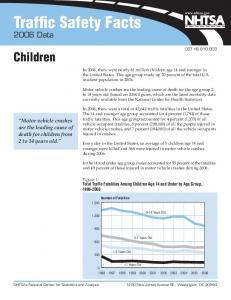 Traffic Safety Facts 2006 Data