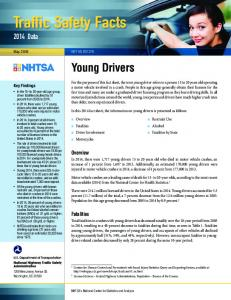 Traffic Safety Facts. Young Drivers Data. Overview. Fatalities