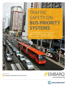 TRAFFIC SAFETY ON BUS PRIORITY SYSTEMS