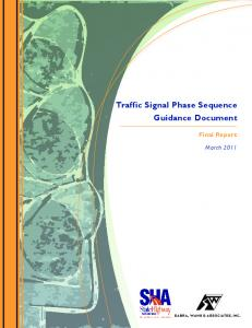 Traffic Signal Phase Sequence Guidance Document Final Report