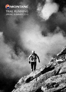 TRAIL RUNNING SPRING SUMMER 2015