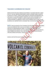 TRAILEROS CACHIMBEROS DE CORAZON NOTA: COMO ESTE MANUAL ES MUY PROBABLE QUE ENCUENTREN MUCHOS EN INTERNET
