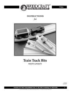 Train Track Bits # & #126373