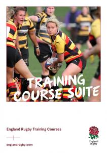 TRAINING COURSE SUITE. England Rugby Training Courses. englandrugby.com