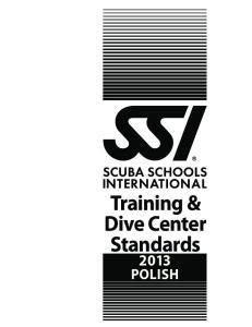 Training & Dive Center Standards POLISH