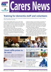Training for dementia staff and volunteers