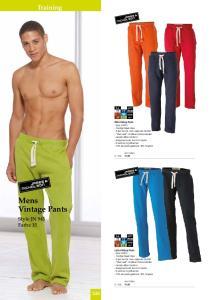 Training Mens Vintage Pants 248