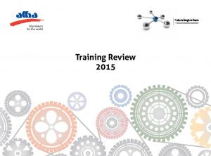 Training Review 2015