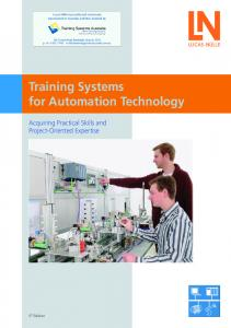 Training Systems for Automation Technology