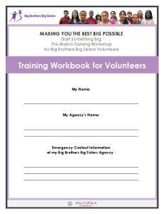 Training Workbook for Volunteers