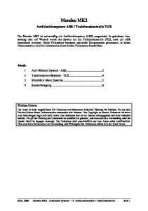 Traktionskontrolle TCS