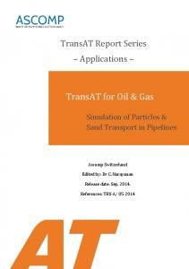 TransAT for Oil & Gas