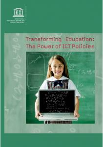 Transforming Education: The Power of ICT Policies