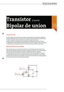 Transistor (2 parte) Bipolar de union 20