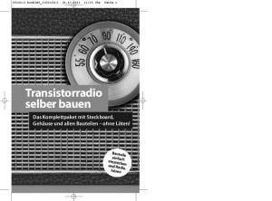 Transistorradio selber bauen