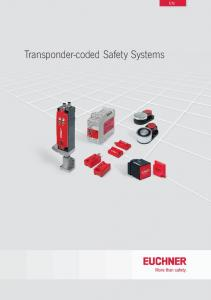 Transponder-coded Safety Systems
