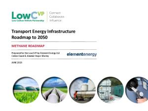 Transport Energy Infrastructure Roadmap to 2050