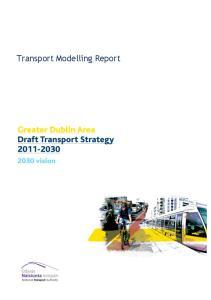 Transport Modelling Report
