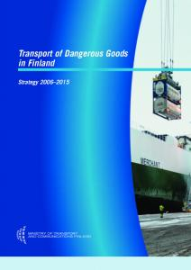 Transport of Dangerous Goods in Finland